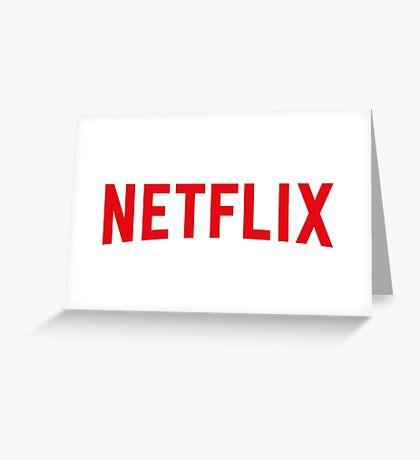 Netflix Greeting Card