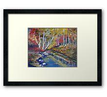 Nature's paint brush Framed Print