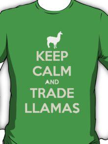 Keep calm and love llamas T-Shirt