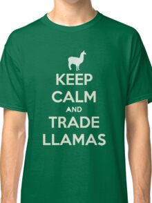 Keep calm and love llamas Classic T-Shirt