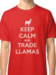 Keep calm and love llamas Classic T-Shirt