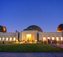 Griffith Observatory at Dusk by Benjamin Curtis