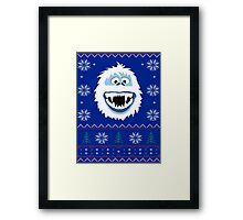 Bumble's Ugly Sweater Framed Print