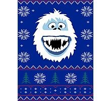Bumble's Ugly Sweater Photographic Print