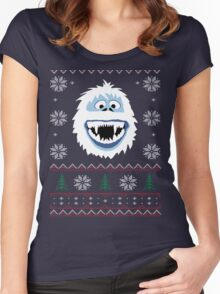 Bumble's Ugly Sweater Women's Fitted Scoop T-Shirt