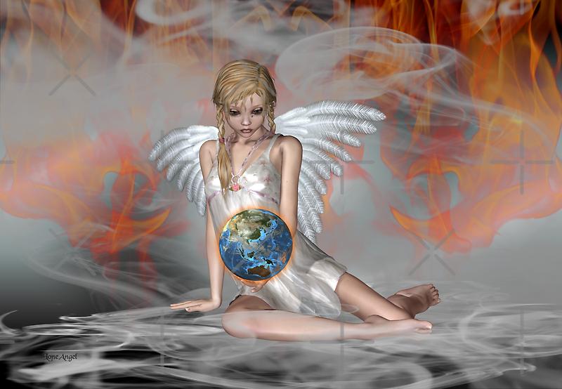 An Angel Weeps by LoneAngel