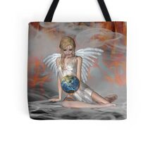 An Angel Weeps Tote Bag