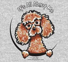 Apricot Toy Poodle :: Its All About Me One Piece - Long Sleeve