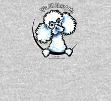 White Toy Poodle :: Its All About Me Womens Fitted T-Shirt