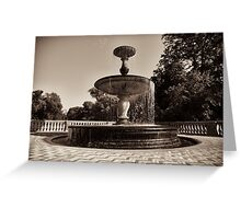 fountain sans souci Greeting Card