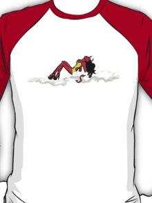 A sexy impish holiday T-Shirt