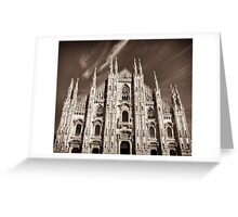 supreme gothic cathedral Greeting Card