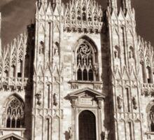 supreme gothic cathedral Sticker