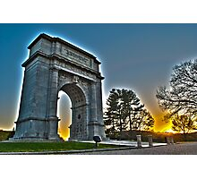 Memorial Arch at Valley Forge Photographic Print