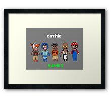 DashieGames/DashieXP Framed Print
