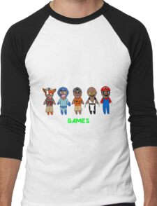 DashieGames/DashieXP Men's Baseball ¾ T-Shirt