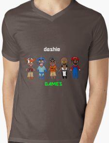 DashieGames/DashieXP Mens V-Neck T-Shirt
