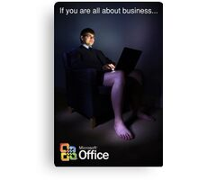 All About Business. Canvas Print