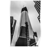 New York City, Freedom Tower. Poster