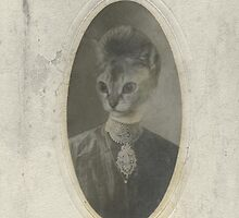 Miss Priss Antique Photo by jbirdistheword