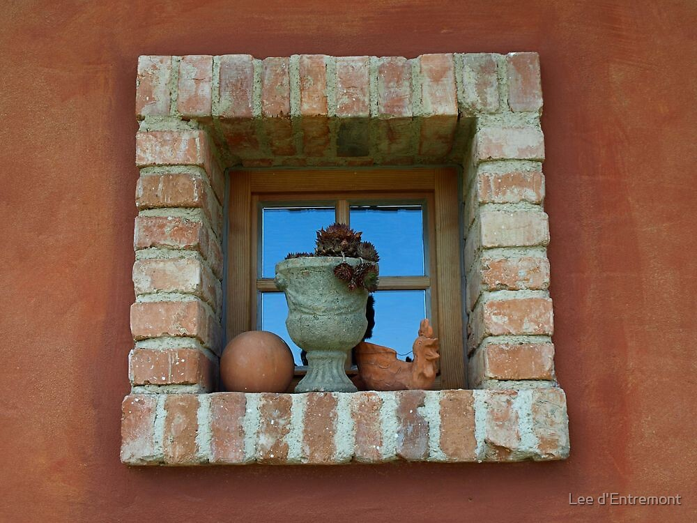 Brick Window #3 by Lee d'Entremont