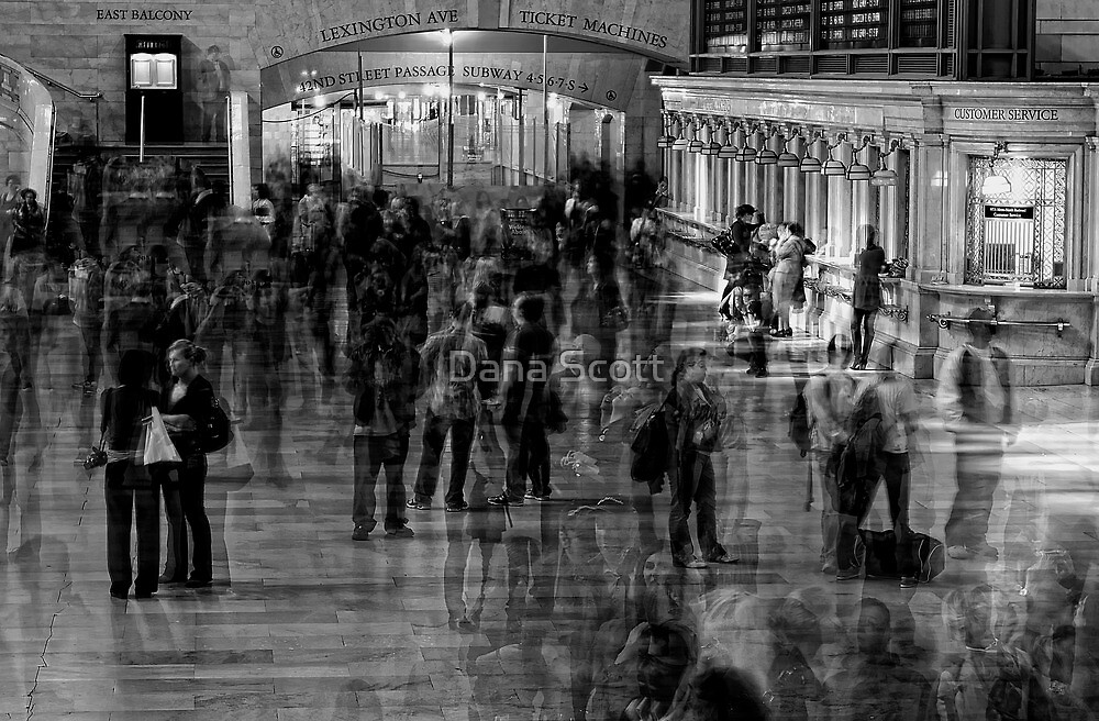 Grand Central Terminal - NYC by Dana Horne