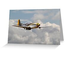 Mustang P51D - Miss Velma Greeting Card