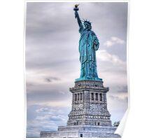 Lady Liberty - NYC Poster