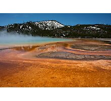 Yellowstone Colour Photographic Print
