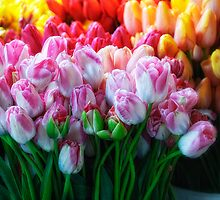 Spring at Pike Place Market by Dana Horne