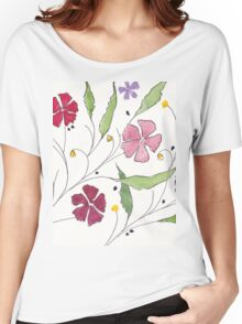 Summer Cosmos Women's Relaxed Fit T-Shirt