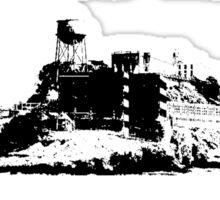 Alcatraz Psycho Ward Dangerous Prisoner Sticker