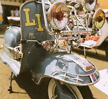Lambretta LI retro look. by Phil Bower