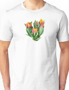 Tulips Just Opening Unisex T-Shirt
