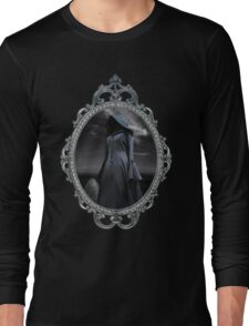 The Visit - Gothic Ghost Art Long Sleeve T-Shirt