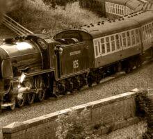 Southern 825 Locomotive (Sepia) Sticker