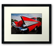 Red Fin Framed Print