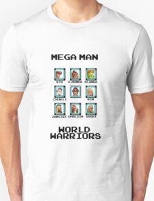Mega Man - World Warriors T-Shirt