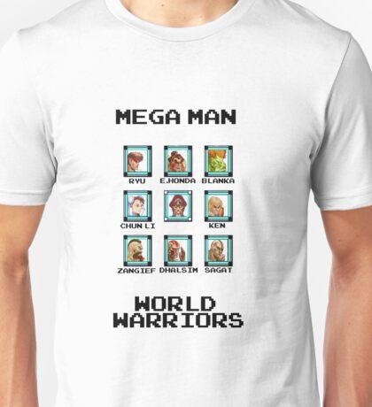 Mega Man - World Warriors Unisex T-Shirt