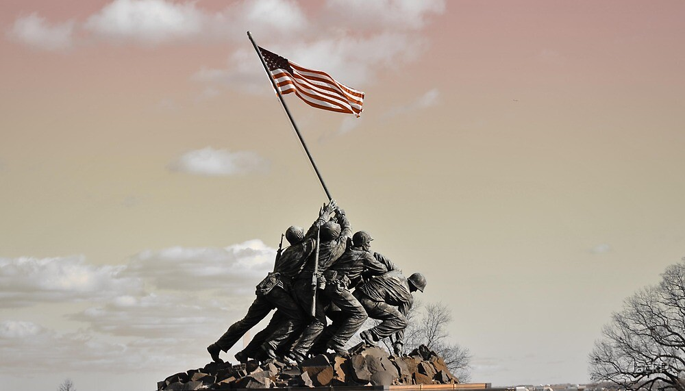 Iwo Jima Memorial, Wash DC by JackP