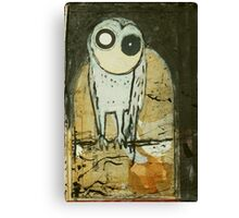 O for Owl Canvas Print