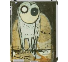 O for Owl iPad Case/Skin