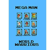 Mega Man - World Warriors Photographic Print