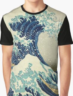 Great Wave off Kanagawa Graphic T-Shirt