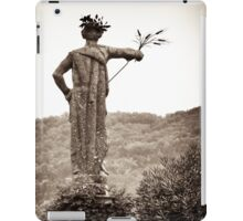 baroque guardian grain offering iPad Case/Skin