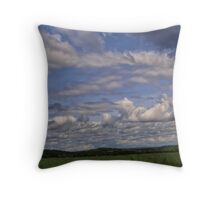 Horizontal March in May Throw Pillow