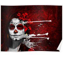 Pintura de las Muertas Poster