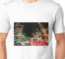 Lightpainting Single Wall Art Print Photograph 5 Unisex T-Shirt