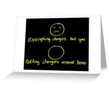 Eraser Men's T-Shirt Greeting Card