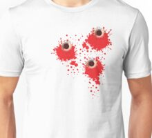 Bullet holes Unisex T-Shirt